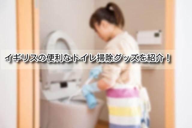 イギリストイレ掃除のイメージ