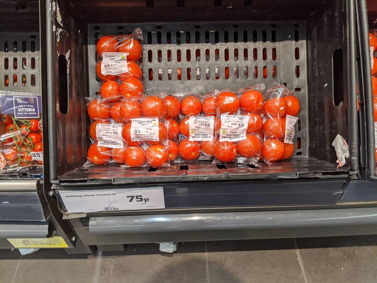 イギリストマトのイメージ