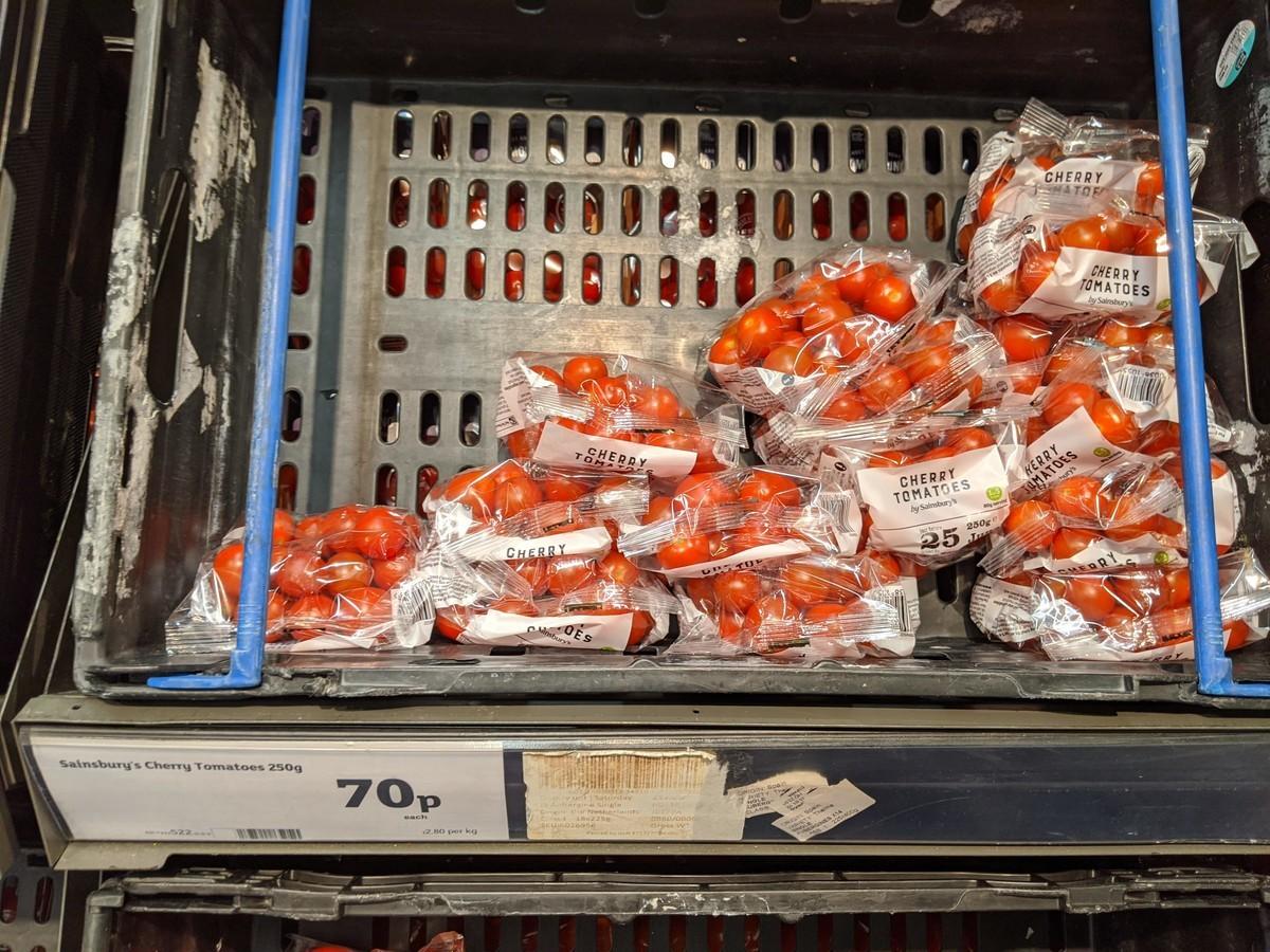 イギリスプチトマトのイメージ