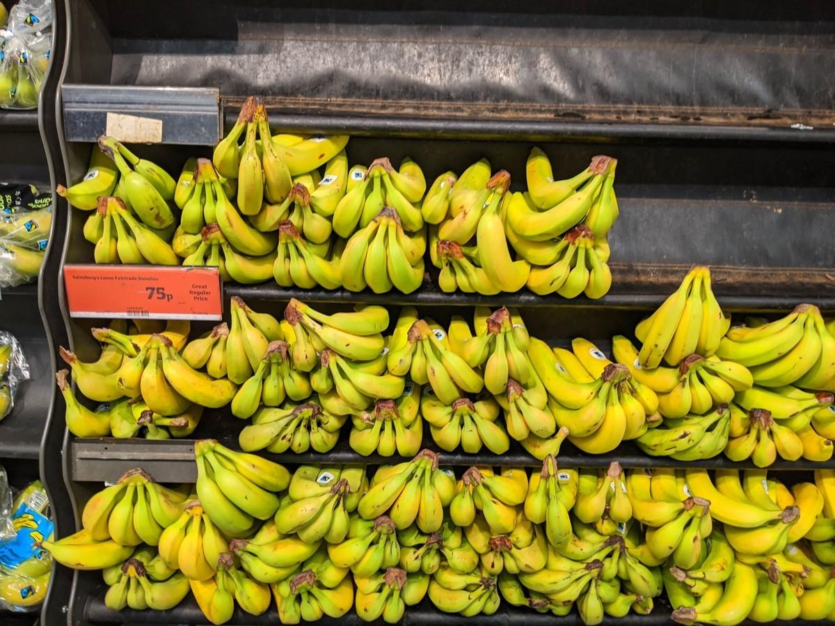 イギリスバナナのイメージ