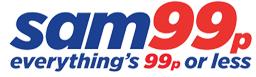 Sam99pロゴのイメージ