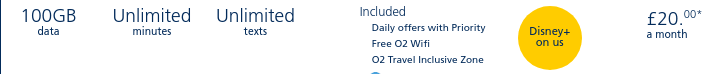 O2のSIM料金のイメージ
