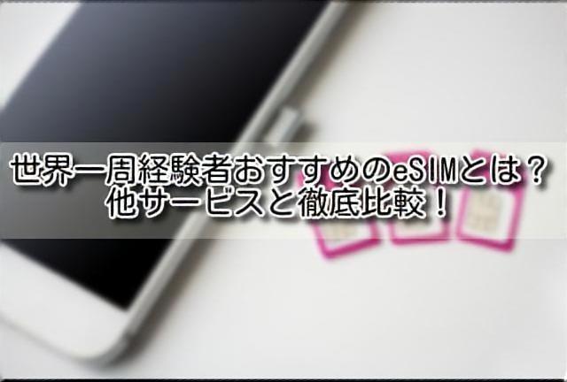 海外旅行SIMのイメージ