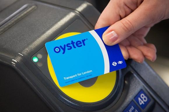 ロンドンOyster(オイスター)カードのイメージ