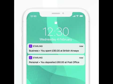 Starling Bankアプリのイメージ