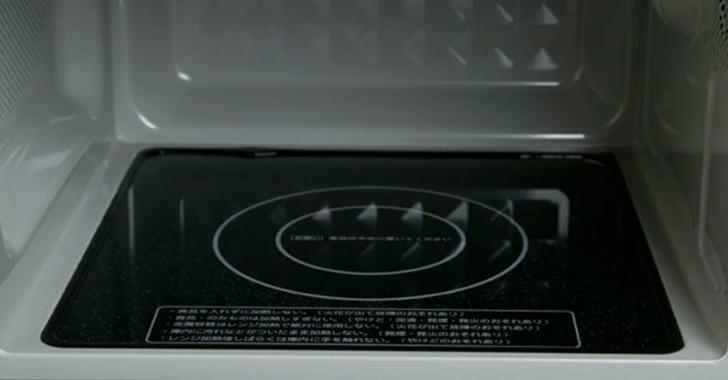 フラットテーブル電子レンジのイメージ