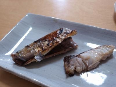 サンマ・鱈の塩麹漬け