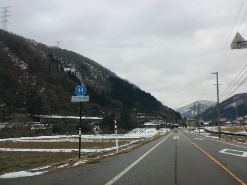 石川県道44号小松鳥越鶴来線