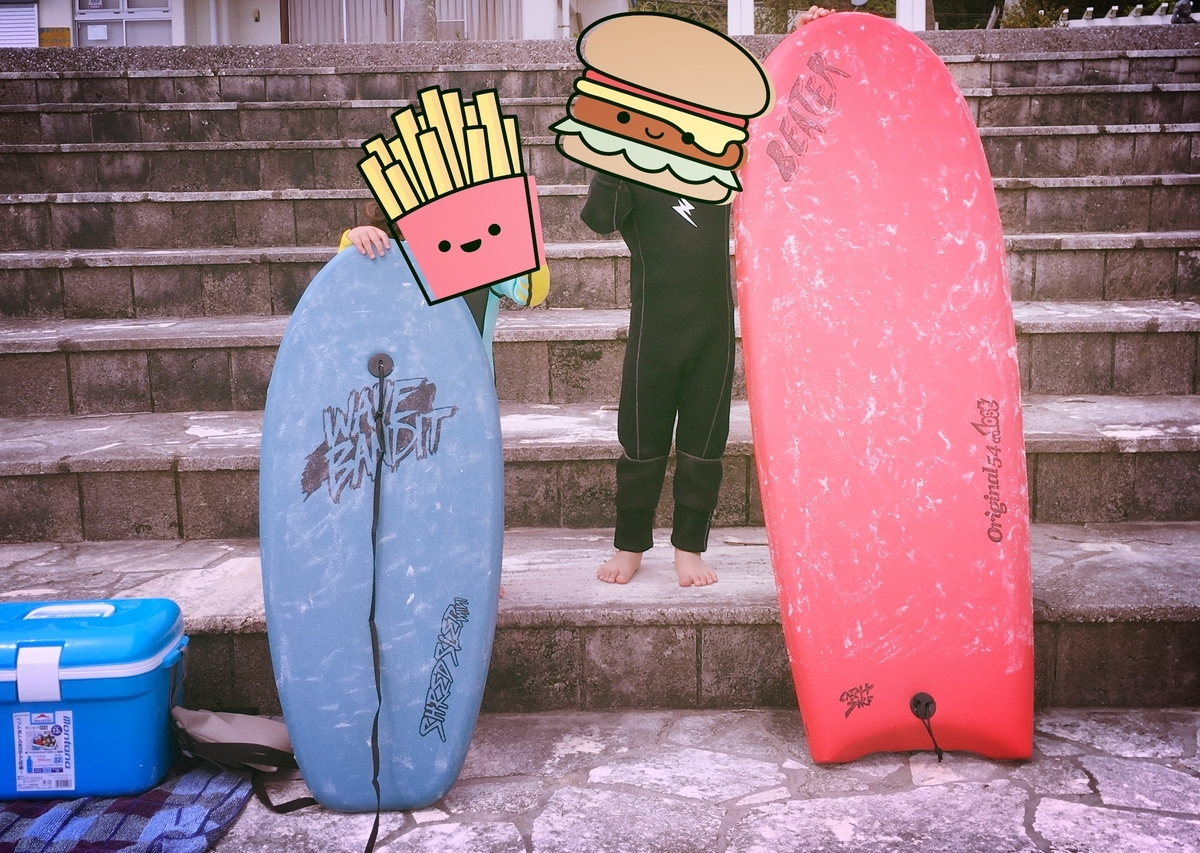 子連れサーフィン 海遊び ブログ