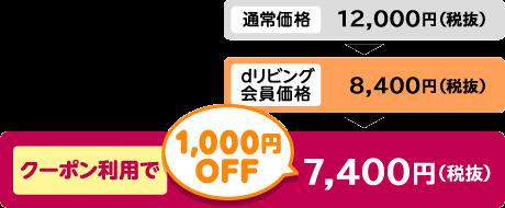 dリビングでダスキン「4600円OFF」割引
