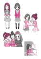 尾木ママの女の子相談室イラスト