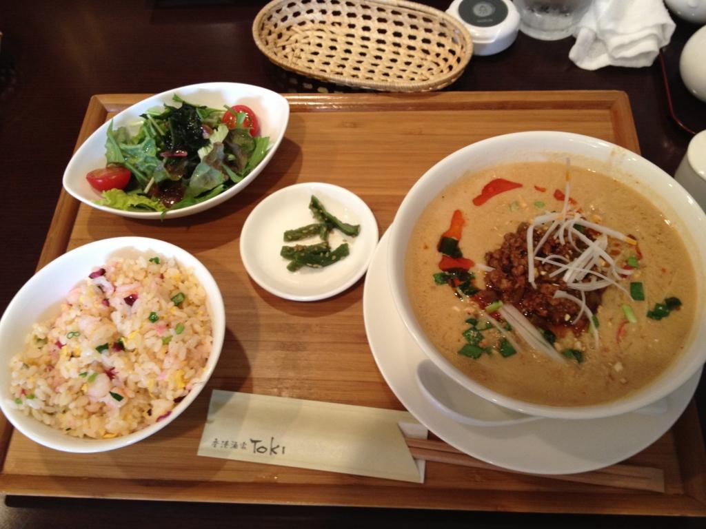 富山西町 Toki ラーメン 中華 担々麺