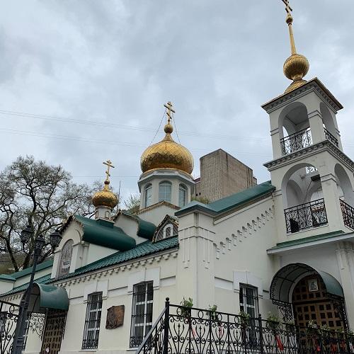 ウラジオストク ウスペーニア教会