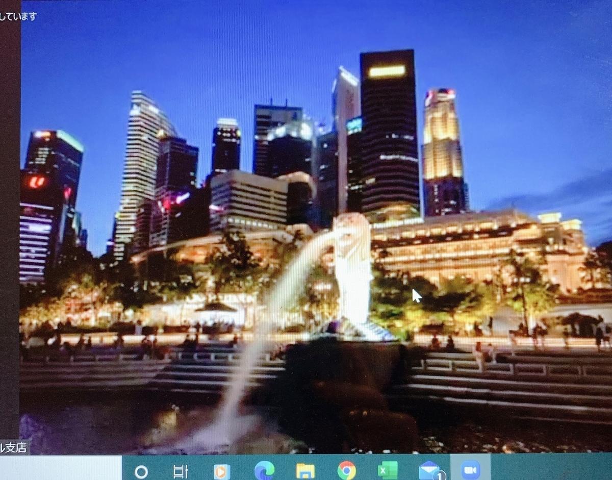 シンガポール オンラインツアー