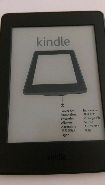 Kindle Paperwhiteマンガモデル画像