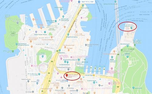 シドニー地図