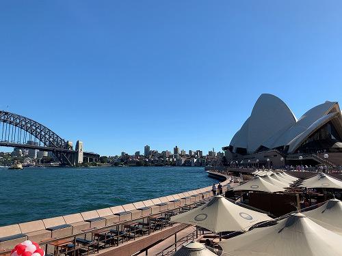 シドニー・ハーバーブリッジとオペラハウス