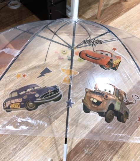 ビニール傘を特別仕様に!