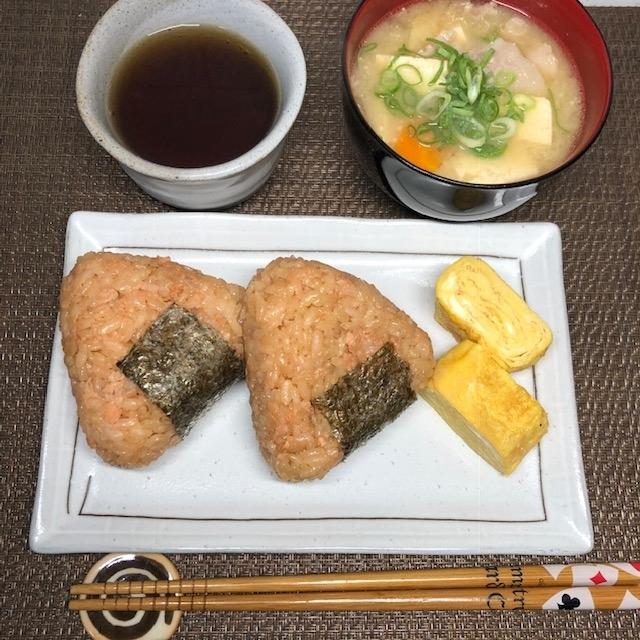 鮭の炊き込みご飯です
