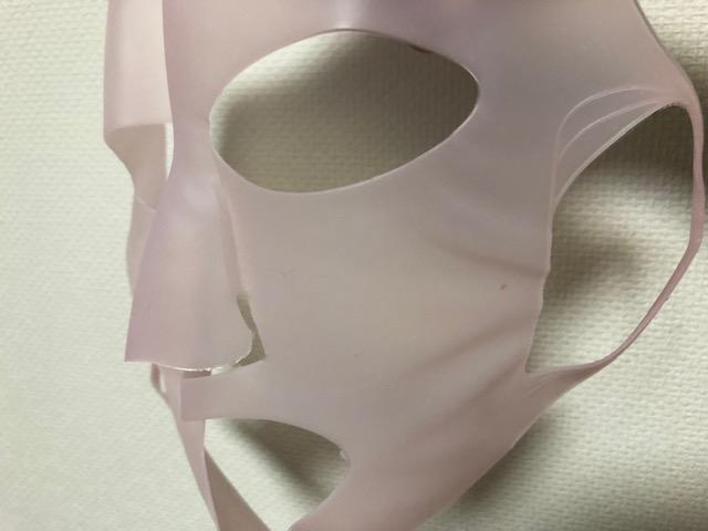シリコン製の3Dマスクでしっかりガード!