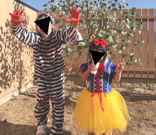 ハロウィンはやっぱり仮装