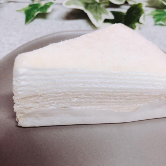 レアチーズミルクレープ