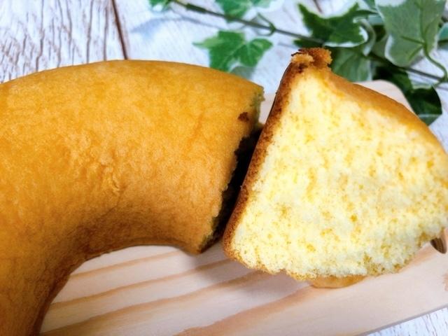 ふわふわたまごのシフォンケーキ