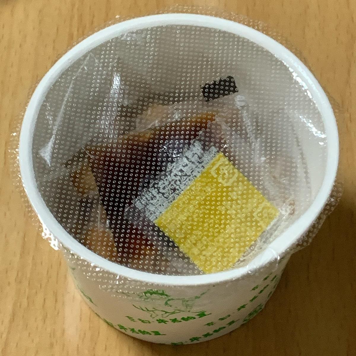 「もちもち納豆」のカップひとつの画像
