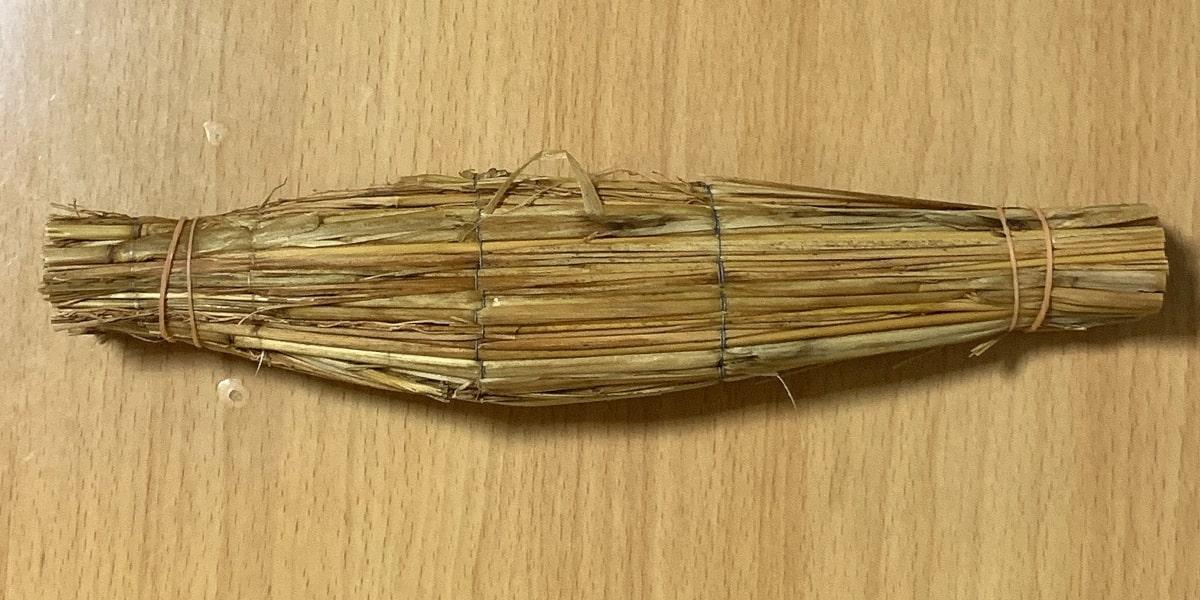 「なにわら納豆」の藁苞の画像