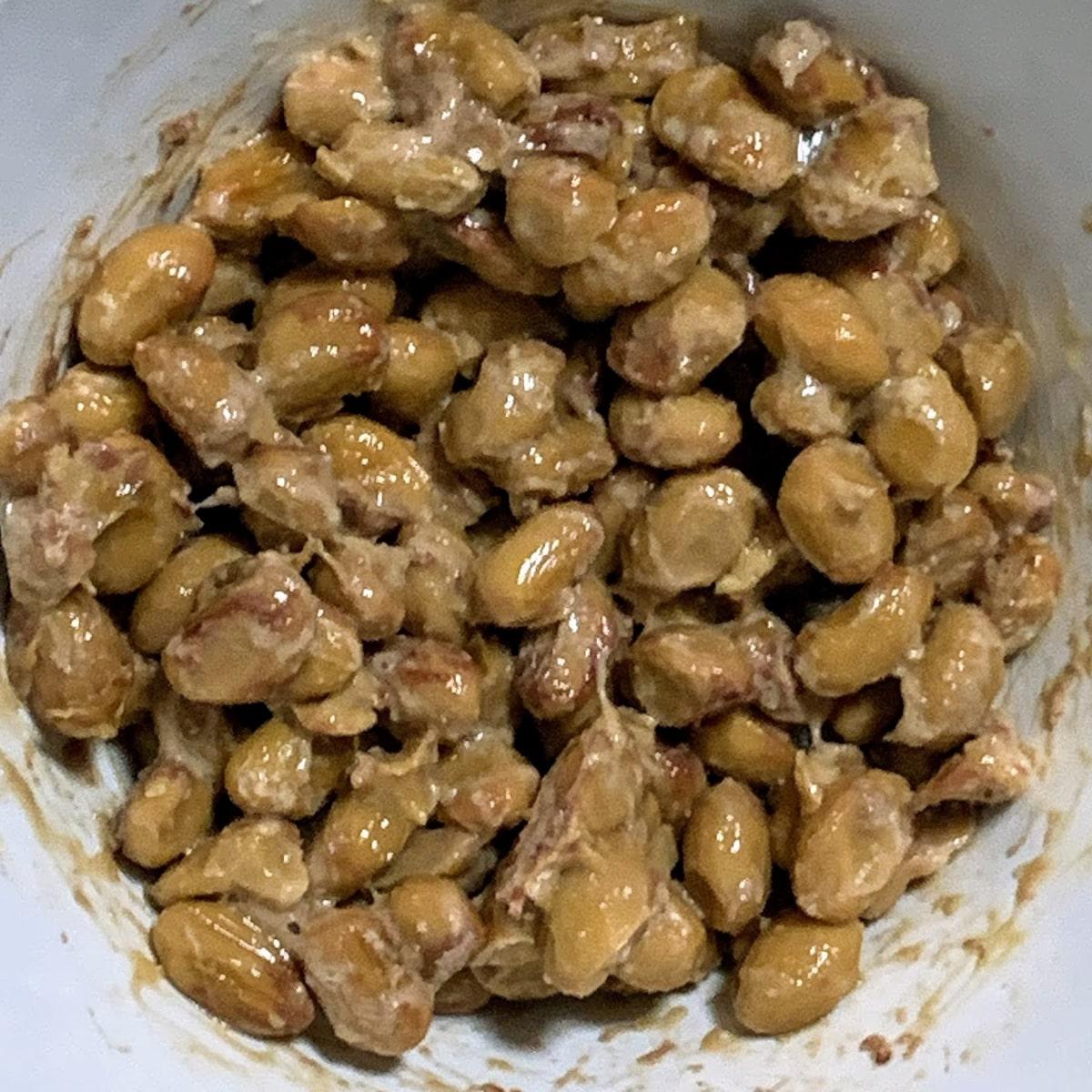 「なにわら納豆」の納豆の画像