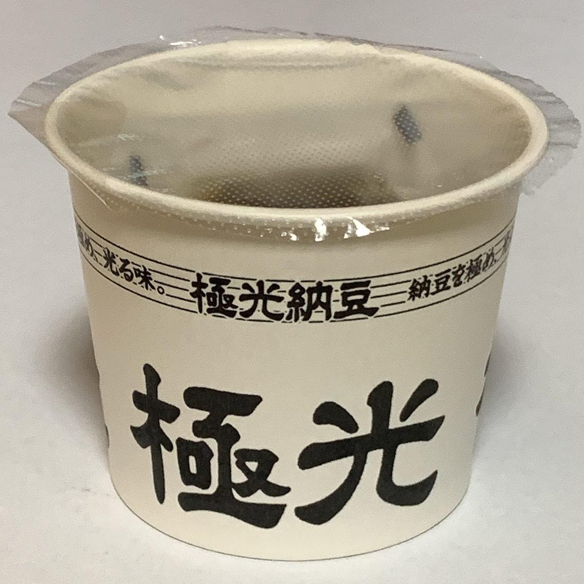「極光納豆」の1カップの画像