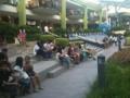 フィリピン、アヤラモールの中庭