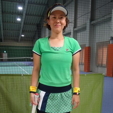 スマートテニスセンサーユーザーボイス女子プレーヤーまり子さん