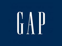 ファストファッションブランドGAPのロゴ