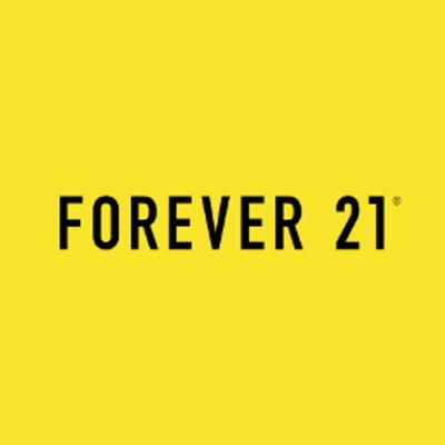 ファストファッションブランドFOREVER21のロゴ