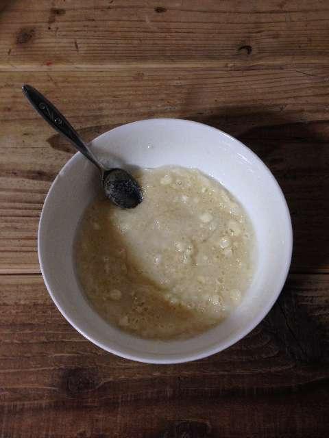 格安小麦粉料理完成
