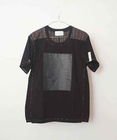 銀杏BOYZコラボkeisuke kandaノイズまみれのTシャツ黒
