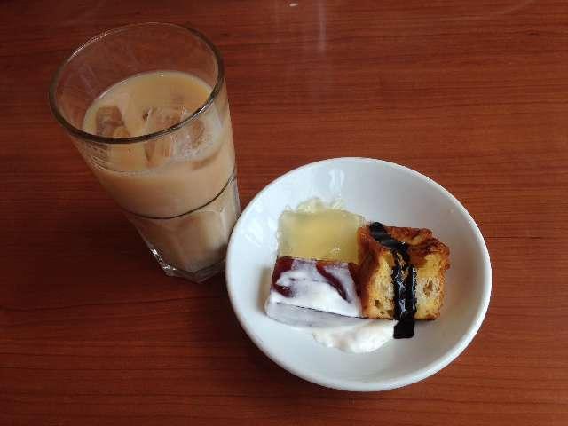 タスペインバルタパスブランコの食べ放題のデザートのフレンチトースト