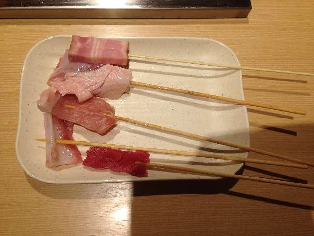 串揚げ食べ放題串家物語の肉類
