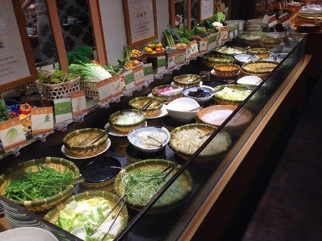 しゃぶ葉 小松川西店のランチ食べ放題