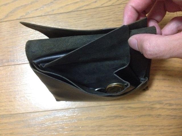 所作の財布