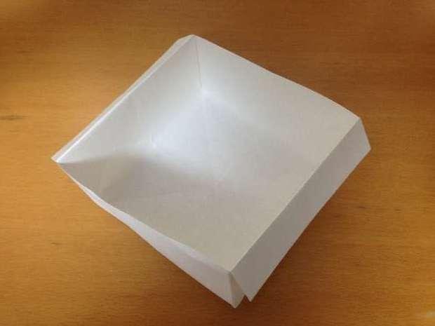 チラシのゴミ箱の折り方&作り方