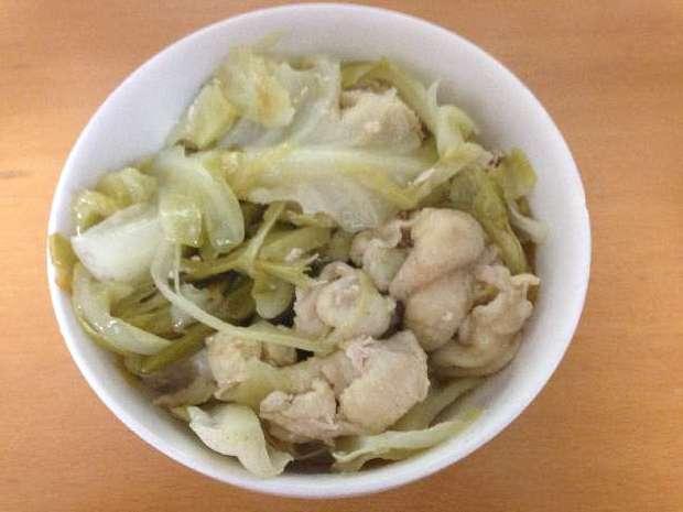 鶏皮のレシピ