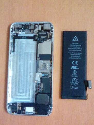 iPhone5のバッテリー、バックカメラを自分で交換修理する方法