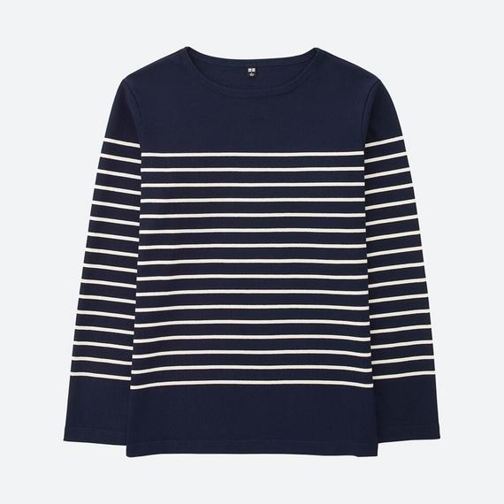 ユニクロのボーダーTシャツ