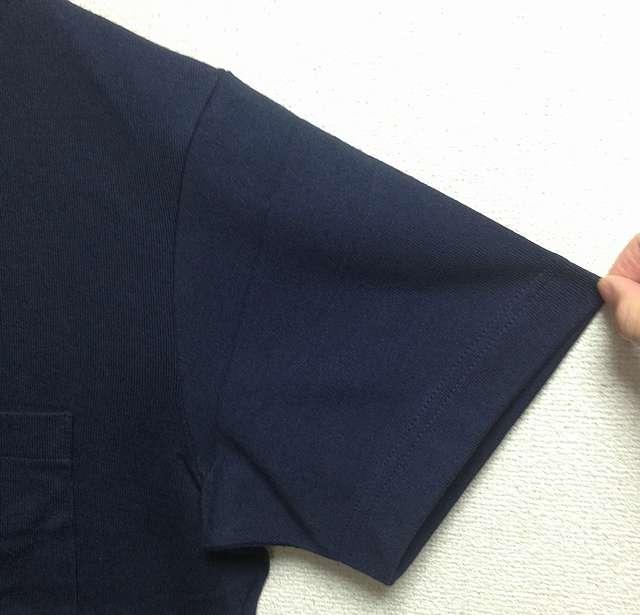 ユニクロのビッグシルエットTシャツのステッチ
