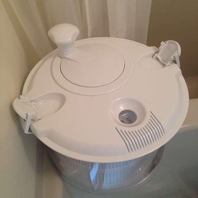 洗濯機なしで手洗いと脱水