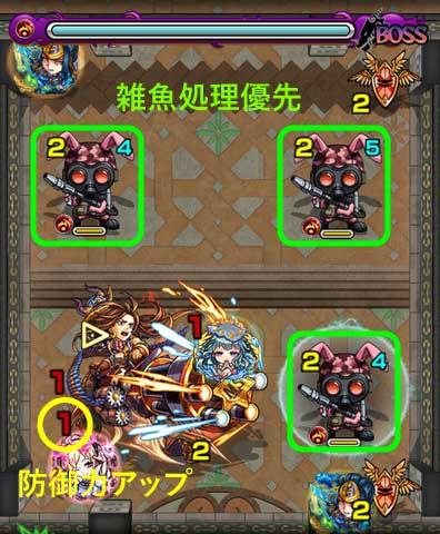覇者の塔21階の攻略方法