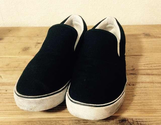 で履き潰した靴