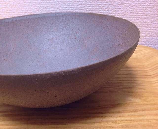 堺クラフトフェア2017「灯しとびとの集い」で購入した林志保さんのボウル皿